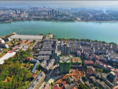 龙辰·古城御景2020年11月高空全景