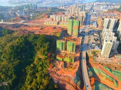 【万居看房】沅陵大汉龙城2020年11月工程进度实况:锦绣风华,悦享人生