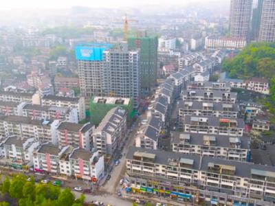 龙辰·古城御景2021年4月高空航拍视频